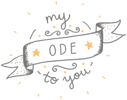 My Ode to You