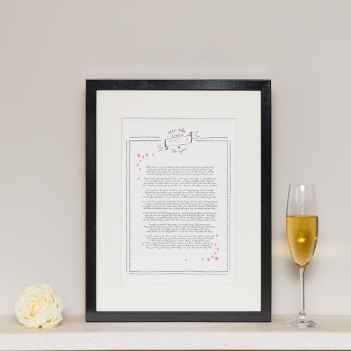 Wedding Ode / Speech